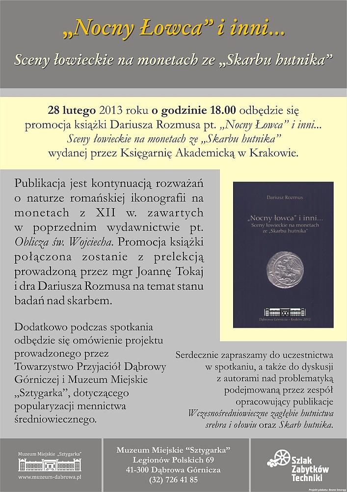 plakat_promocja_ksiazki_D_Rozmusa