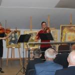 duet skrzypcowy Olga Jankowska iMartyna Jaremus
