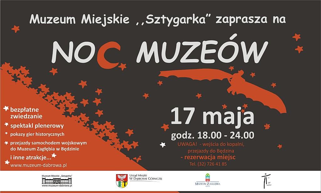 noc muzeow plakat