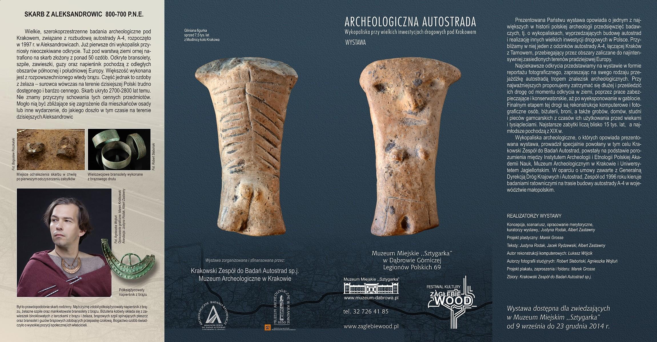 FOLDER archeologiczna autostrada 1pm