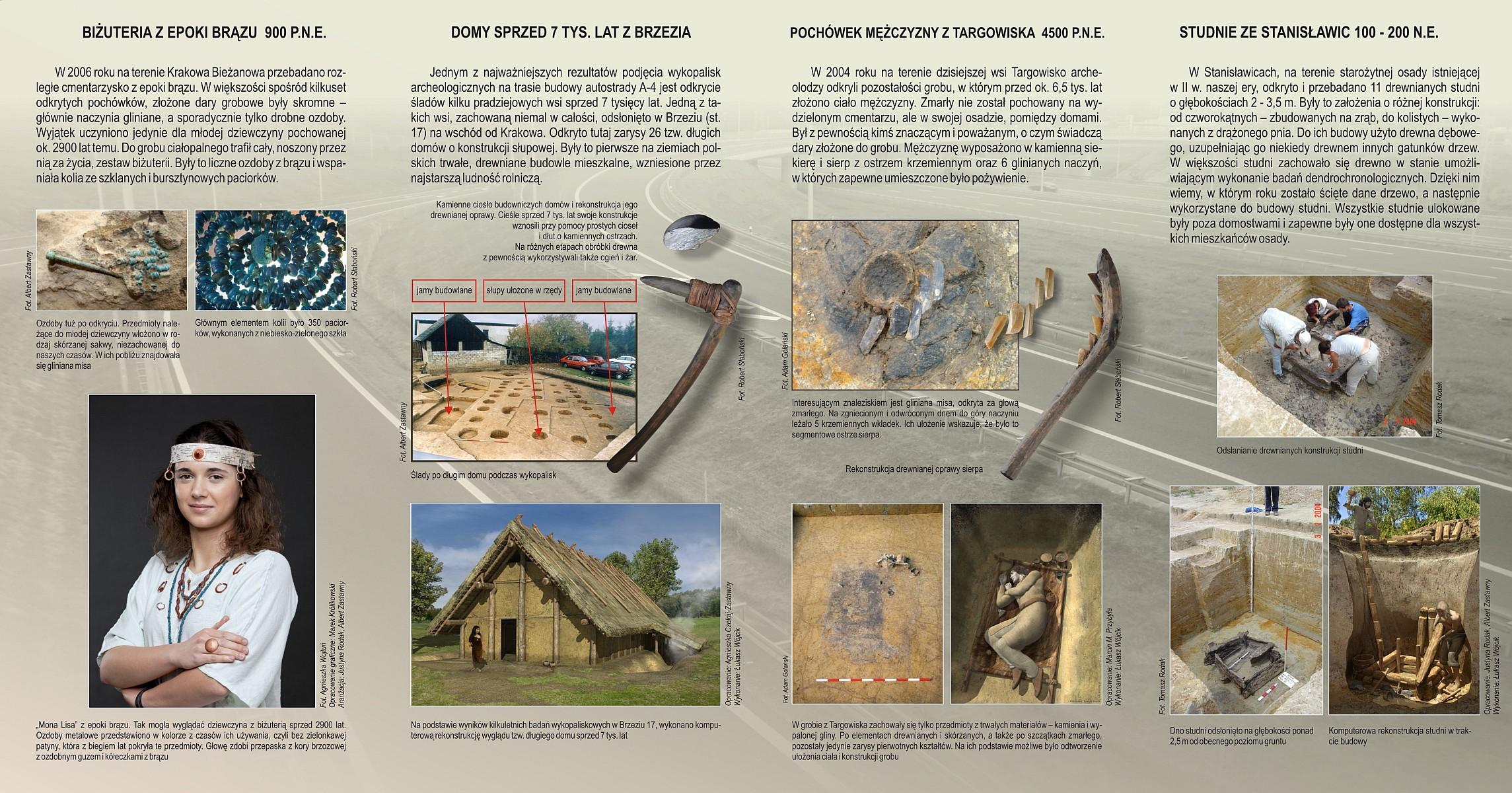 FOLDER archeologiczna autostrada 2pm