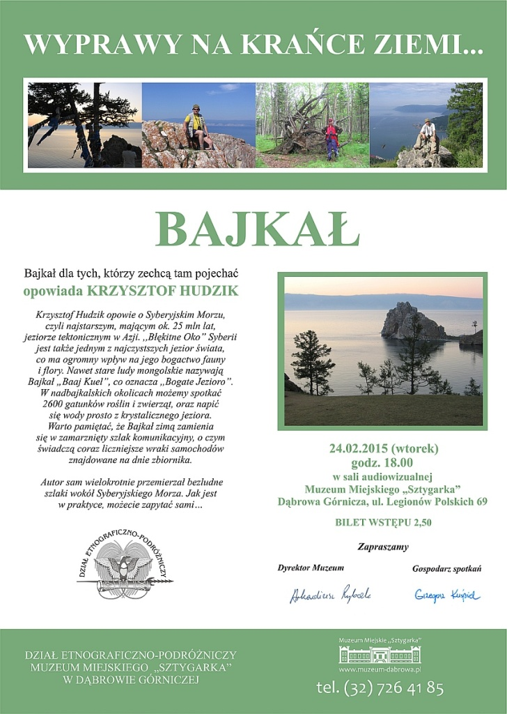 Plakat Bajkal