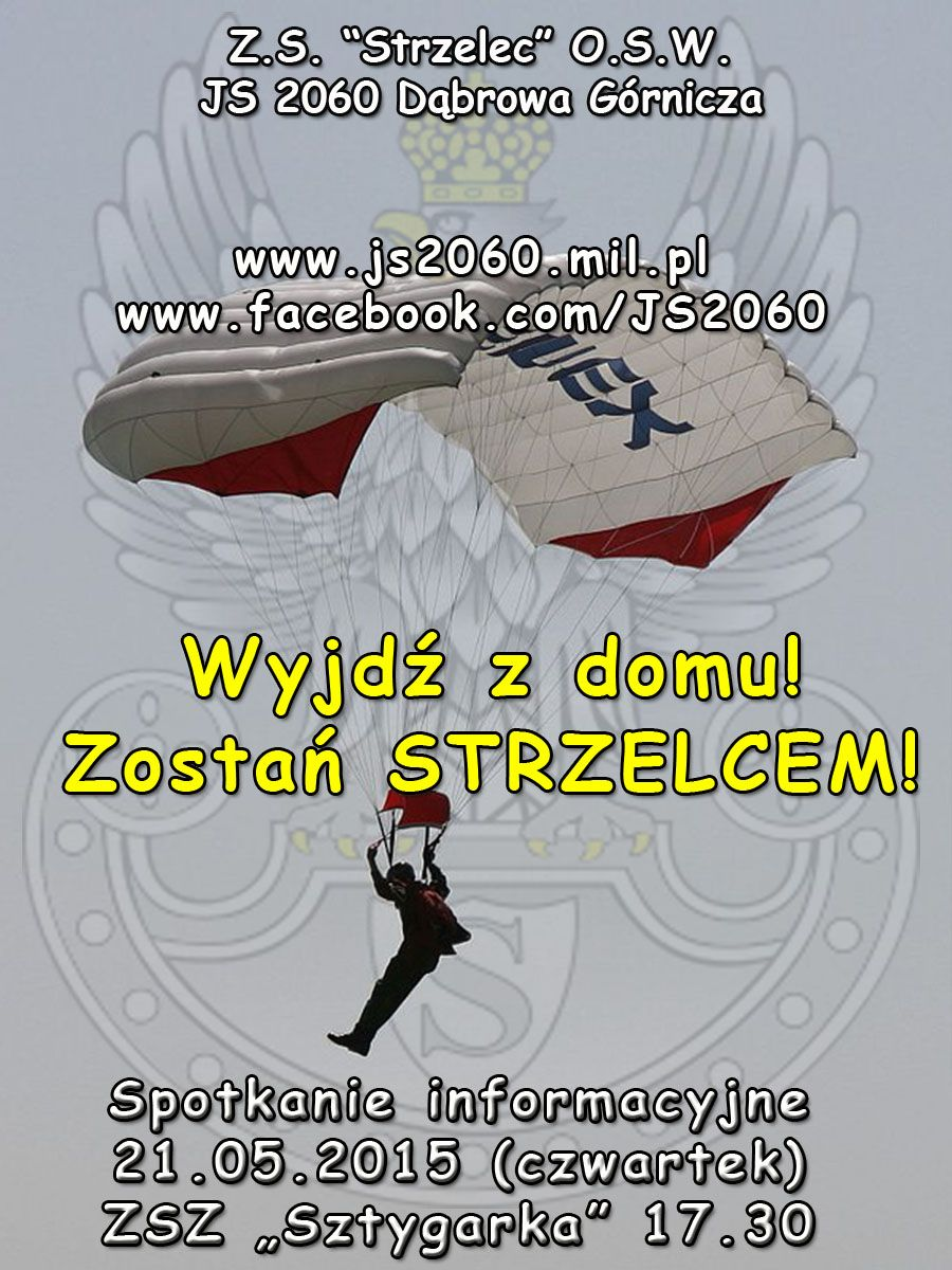 plakat rekrutacyjny - JS 2060