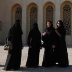 29 Bahrain kobiety przedmeczetem