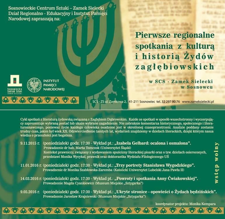 Spotkanie zhistora ikultura  zydow 9.11